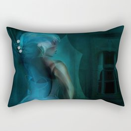 Digital Ball-Room Rectangular Pillow