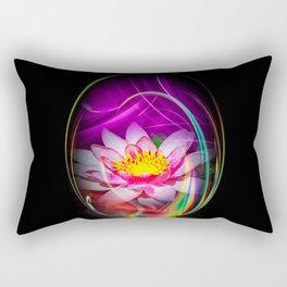Wellness Water Lily 4 Rectangular Pillow