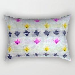 Tres Colores Peces Rectangular Pillow