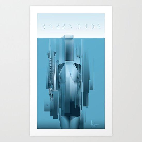 BARRACUDA Art Print