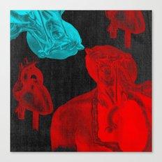 Stolen Hearts (Les coeurs volés) Canvas Print
