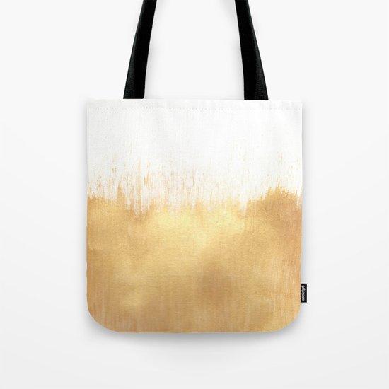 Brushed Gold Tote Bag