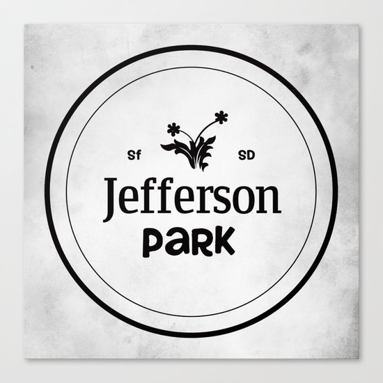Jefferson Park Canvas Print