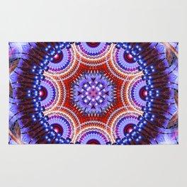Cosmic Geometry Mandala Rug