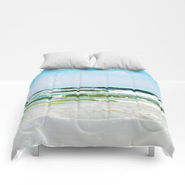 The Ocean's Timeless Allure Comforters