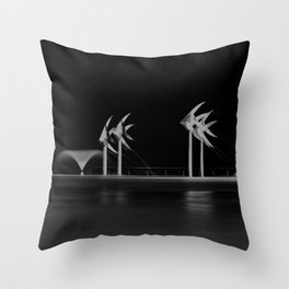 Cairns Esplanade Swimming Lagoon Throw Pillow