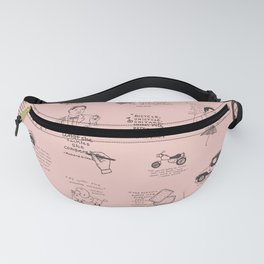 Gilmore Girls Quotes in Pink Fanny Pack
