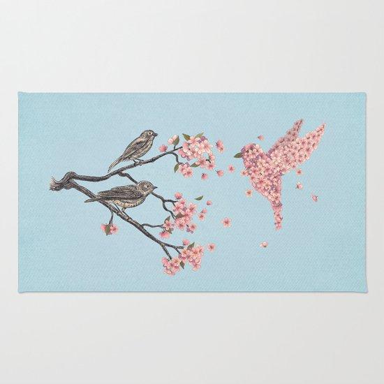 Blossom Bird  Rug
