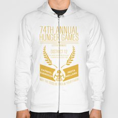 74th annual hunger games poster Hoody