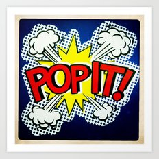 So Pop ! Art Print