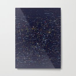 All the stars poster Metal Print