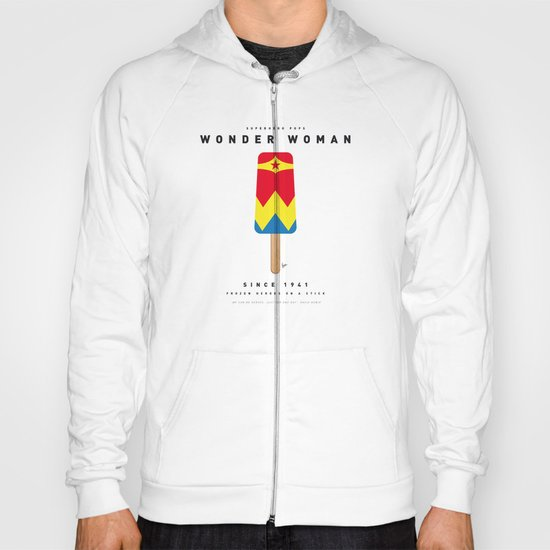 My SUPERHERO ICE POP - woman - No17 WONDER Hoody