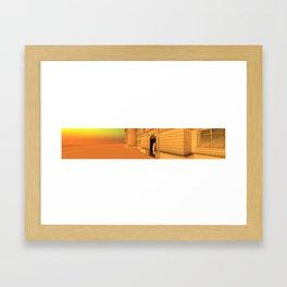 Bientôt l'été - The Way In Framed Art Print
