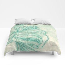 Ocean Plant Comforters