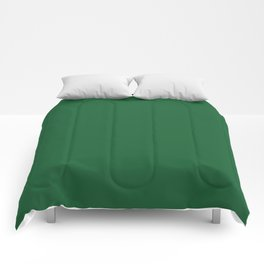 Green Bay Football Team Green Solid Mix and Match Colors Comforters