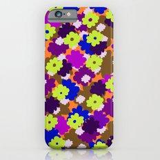 Fall Fun Flowers Slim Case iPhone 6s
