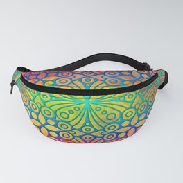 DP050-3 Colorful Moroccan pattern Fanny Pack