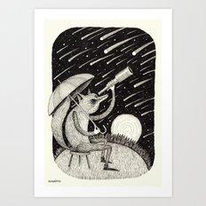 'Meteor Shower' Art Print