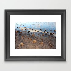 Receding Framed Art Print