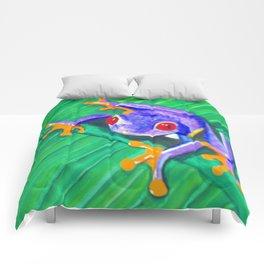 Tree Frog Comforters
