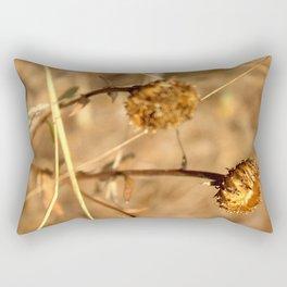 Dry Weeds Rectangular Pillow