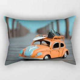 Little Cars, Big Planet (70's) Rectangular Pillow