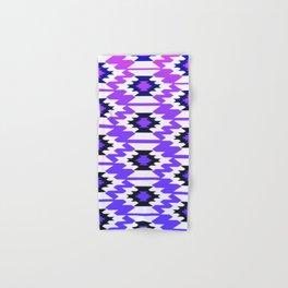 Ultraviolet geometry Hand & Bath Towel