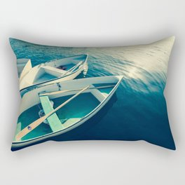 On the Water - Boats Rectangular Pillow