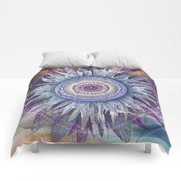 Crown Chakra (II) Comforters