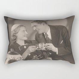 Vintage Rendezvouz Rectangular Pillow