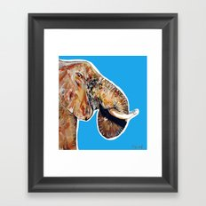 Elephan 1 Framed Art Print