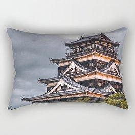 The Hiroshima Castle Rectangular Pillow