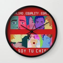 Igualdad . Equality . Égalité Wall Clock