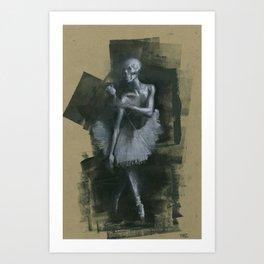 The Dark Dancer Art Print