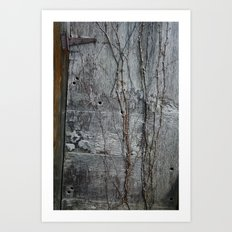 Vine and Hinge Art Print