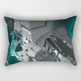 Fractaled Rectangular Pillow