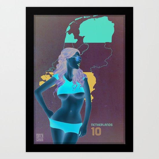 Netherlands Art Print