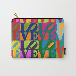 Love Pop Art Carry-All Pouch