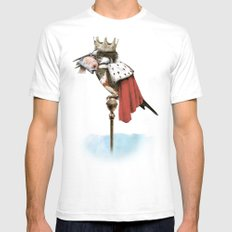 King Fisher MEDIUM Mens Fitted Tee White