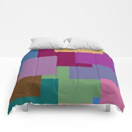 Squares, so many squares Comforters