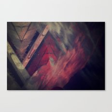 Pyramid Ablaze  Canvas Print