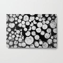 Sawn Timber Metal Print