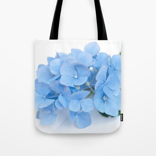 Blue Hydrangeas #1 #decor #art #society6 Tote Bag