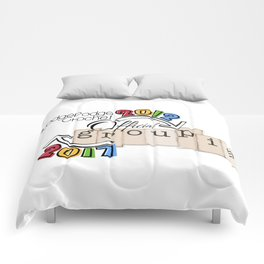 Fall Groupie 2017 Comforters