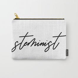 Steminist Handwritten Steminism Scientist Carry-All Pouch