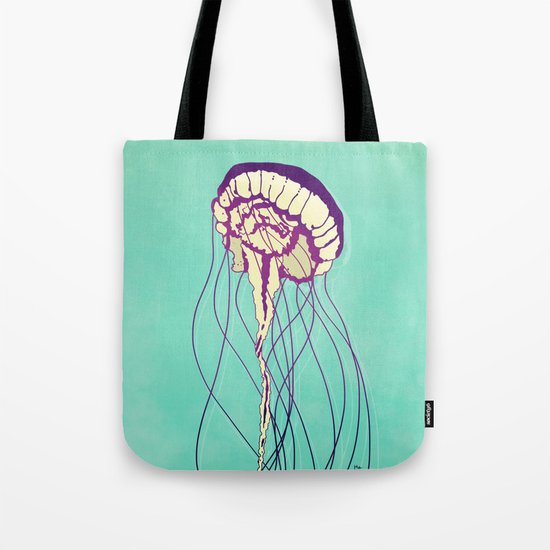 Under the Turquoise Sea Tote Bag