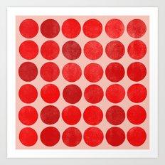 colorplay 12 sq Art Print