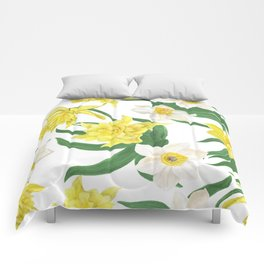 daffodil flowers Comforters