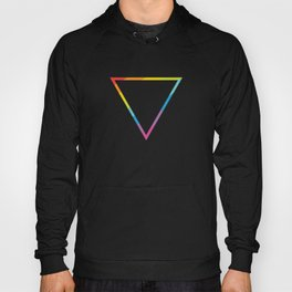 Pride: Rainbow Geometric Triangle Hoody
