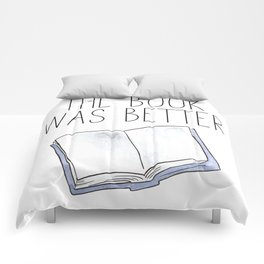 The Book Was Better Comforters